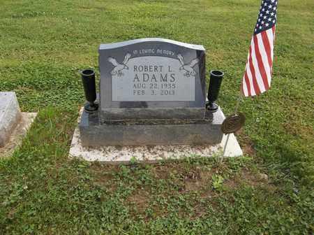 ADAMS, ROBERT L. - Trumbull County, Ohio | ROBERT L. ADAMS - Ohio Gravestone Photos