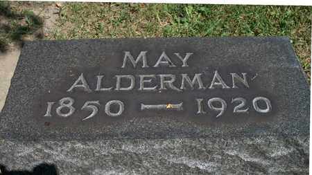 ALDERMAN, MAY - Trumbull County, Ohio | MAY ALDERMAN - Ohio Gravestone Photos