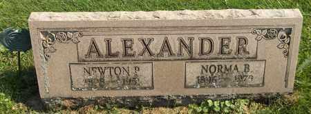 ALEXANDER, NEWTON P. - Trumbull County, Ohio | NEWTON P. ALEXANDER - Ohio Gravestone Photos