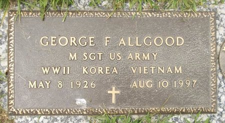 ALLGOOD, GEORGE F. - Trumbull County, Ohio | GEORGE F. ALLGOOD - Ohio Gravestone Photos
