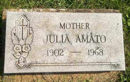 AMATO, JULIA - Trumbull County, Ohio | JULIA AMATO - Ohio Gravestone Photos