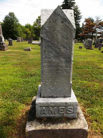 AMES, EZRA - Trumbull County, Ohio | EZRA AMES - Ohio Gravestone Photos