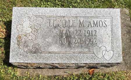 AMOS, LUCILLE M. - Trumbull County, Ohio | LUCILLE M. AMOS - Ohio Gravestone Photos