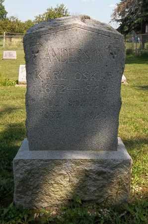ANDERSON, IDA SOPHIA - Trumbull County, Ohio | IDA SOPHIA ANDERSON - Ohio Gravestone Photos