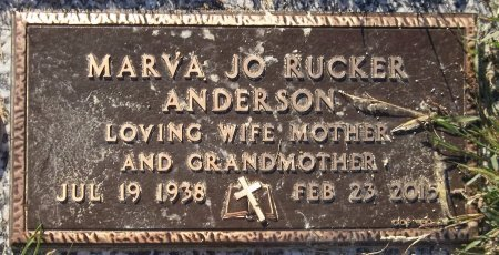 ANDERSON, MARVA JO - Trumbull County, Ohio   MARVA JO ANDERSON - Ohio Gravestone Photos