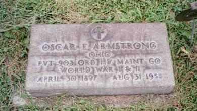 ARMSTRONG, OSCAR  EBENEZER - Trumbull County, Ohio | OSCAR  EBENEZER ARMSTRONG - Ohio Gravestone Photos