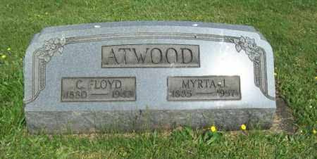 ATWOOD, MYRTA J. - Trumbull County, Ohio | MYRTA J. ATWOOD - Ohio Gravestone Photos