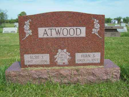 ATWOOD, FERN S. - Trumbull County, Ohio | FERN S. ATWOOD - Ohio Gravestone Photos