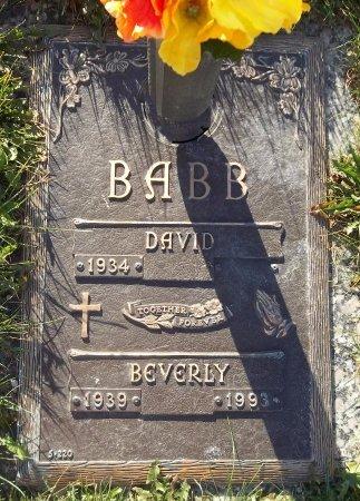 BABB, BEVERLY - Trumbull County, Ohio   BEVERLY BABB - Ohio Gravestone Photos
