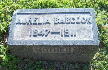 BABCOCK, AURELIA - Trumbull County, Ohio | AURELIA BABCOCK - Ohio Gravestone Photos