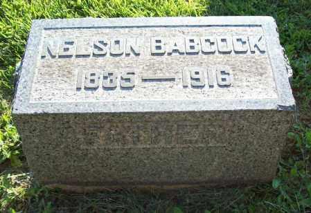 BABCOCK, NELSON - Trumbull County, Ohio | NELSON BABCOCK - Ohio Gravestone Photos