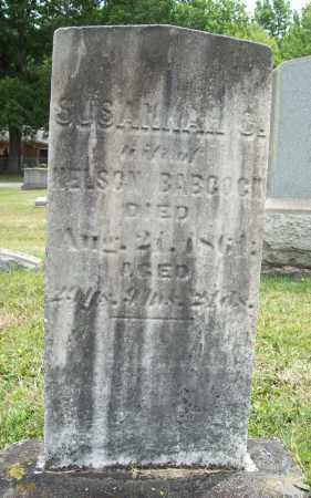BABCOCK, SUSANNAH C. - Trumbull County, Ohio | SUSANNAH C. BABCOCK - Ohio Gravestone Photos