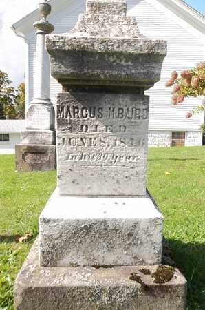 BAIRD, MARCUS M. - Trumbull County, Ohio | MARCUS M. BAIRD - Ohio Gravestone Photos