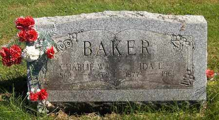 BAKER, CHARLIE W. - Trumbull County, Ohio | CHARLIE W. BAKER - Ohio Gravestone Photos