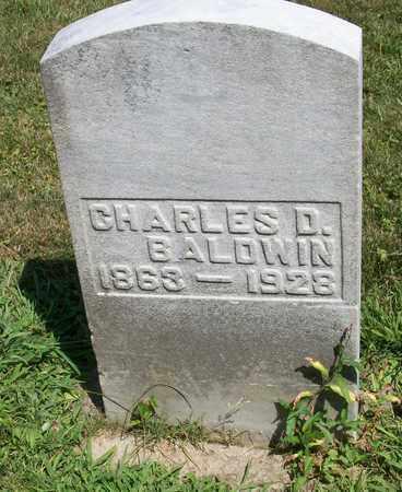 BALDWIN, CHARLES D. - Trumbull County, Ohio | CHARLES D. BALDWIN - Ohio Gravestone Photos