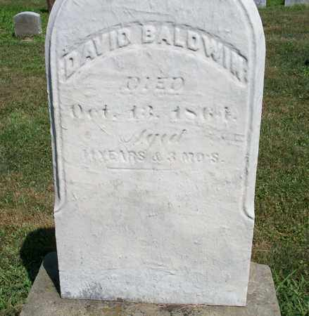 BALDWIN, DAVID - Trumbull County, Ohio | DAVID BALDWIN - Ohio Gravestone Photos