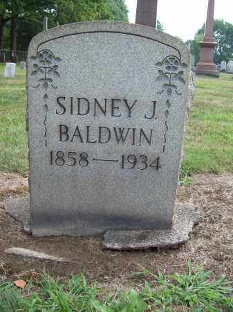 BALDWIN, SIDNEY J. - Trumbull County, Ohio | SIDNEY J. BALDWIN - Ohio Gravestone Photos