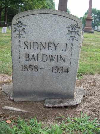 BALDWIN, SIDNEY J. - Trumbull County, Ohio | SIDNEY J. BALDWIN - Ohio Gravestone Photos
