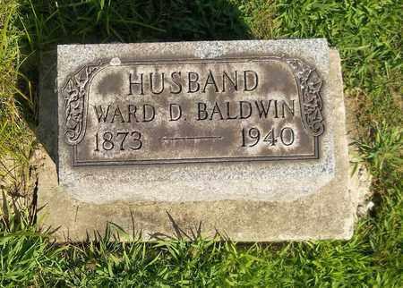 BALDWIN, WARD D. - Trumbull County, Ohio | WARD D. BALDWIN - Ohio Gravestone Photos