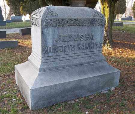BANNING, JERUSHA - Trumbull County, Ohio | JERUSHA BANNING - Ohio Gravestone Photos