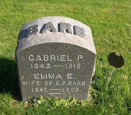 BARB, EMMA E. - Trumbull County, Ohio | EMMA E. BARB - Ohio Gravestone Photos