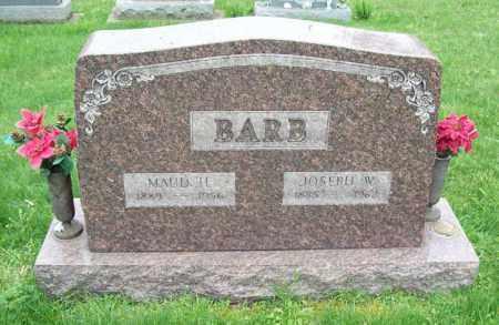 BARB, MAUD H. - Trumbull County, Ohio | MAUD H. BARB - Ohio Gravestone Photos