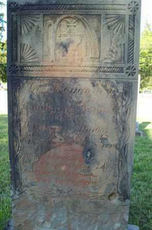 BARBER, CAROLINE - Trumbull County, Ohio | CAROLINE BARBER - Ohio Gravestone Photos