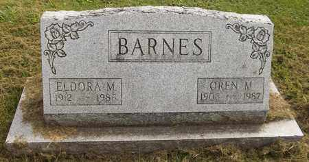 BARNES, OREN M., JR. - Trumbull County, Ohio | OREN M., JR. BARNES - Ohio Gravestone Photos