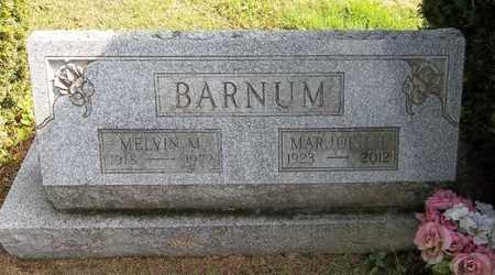 BARNUM, MARJORIE I. - Trumbull County, Ohio | MARJORIE I. BARNUM - Ohio Gravestone Photos