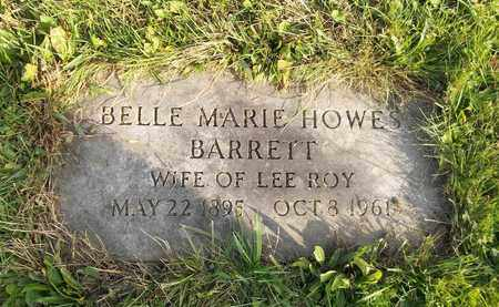 HOWES BARRETT, BELLE MARIE - Trumbull County, Ohio | BELLE MARIE HOWES BARRETT - Ohio Gravestone Photos