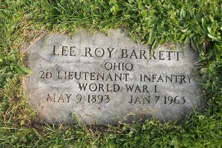 BARRETT, LEE ROY - Trumbull County, Ohio | LEE ROY BARRETT - Ohio Gravestone Photos