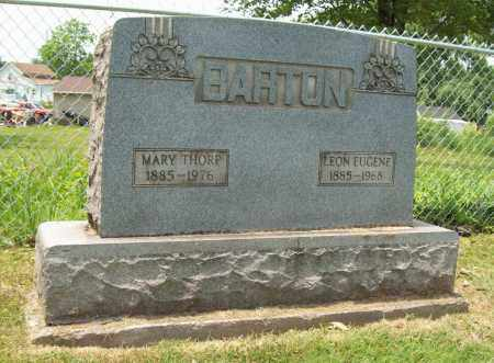 BARTON, MARY - Trumbull County, Ohio | MARY BARTON - Ohio Gravestone Photos