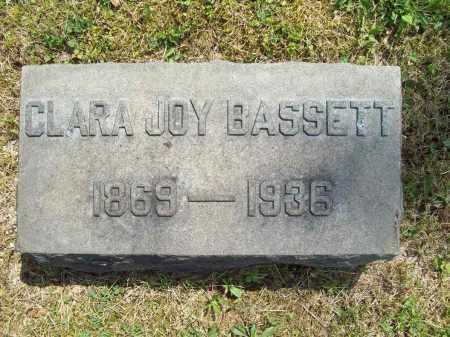 JOY BASSETT, CLARA L. - Trumbull County, Ohio | CLARA L. JOY BASSETT - Ohio Gravestone Photos