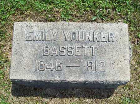 BASSETT, EMILY - Trumbull County, Ohio | EMILY BASSETT - Ohio Gravestone Photos