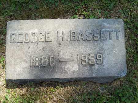 BASSETT, GEORGE H, - Trumbull County, Ohio | GEORGE H, BASSETT - Ohio Gravestone Photos