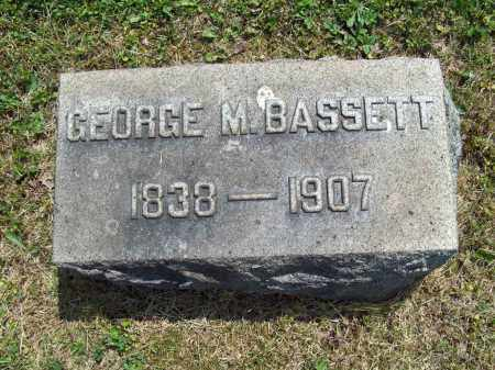 BASSETT, GEORGE M. - Trumbull County, Ohio | GEORGE M. BASSETT - Ohio Gravestone Photos