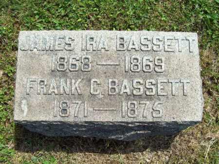 BASSETT, JAMES IRA - Trumbull County, Ohio | JAMES IRA BASSETT - Ohio Gravestone Photos