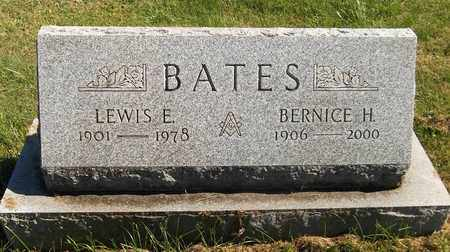 BATES, LEWIS E. - Trumbull County, Ohio | LEWIS E. BATES - Ohio Gravestone Photos
