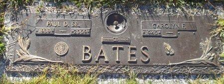 BATES, PAUL D., SR. - Trumbull County, Ohio | PAUL D., SR. BATES - Ohio Gravestone Photos