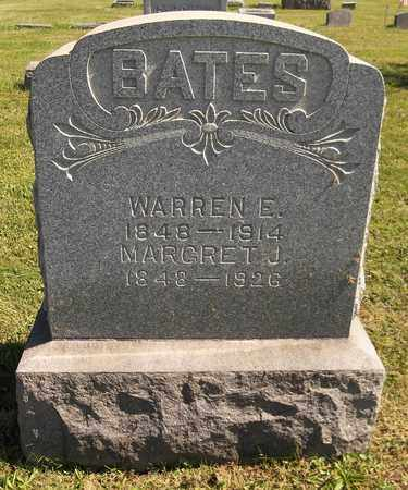 BATES, MARGARET J. - Trumbull County, Ohio | MARGARET J. BATES - Ohio Gravestone Photos