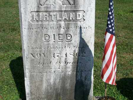 BEACH, KIRTLAND - Trumbull County, Ohio | KIRTLAND BEACH - Ohio Gravestone Photos