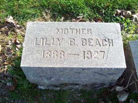 MCCORKLE BEACH, LILLY CLARA - Trumbull County, Ohio | LILLY CLARA MCCORKLE BEACH - Ohio Gravestone Photos