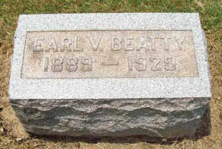BEATTY, EARL VICTOR - Trumbull County, Ohio | EARL VICTOR BEATTY - Ohio Gravestone Photos