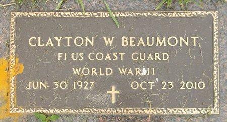 BEAUMONT, CLAYTON W. - Trumbull County, Ohio | CLAYTON W. BEAUMONT - Ohio Gravestone Photos