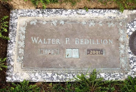 BEDILLION, WALTER P. - Trumbull County, Ohio | WALTER P. BEDILLION - Ohio Gravestone Photos