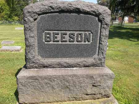 BEESON, SURNAME MONUMENT - Trumbull County, Ohio | SURNAME MONUMENT BEESON - Ohio Gravestone Photos
