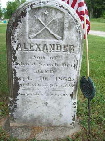 BEIL, ALEXANDER - Trumbull County, Ohio | ALEXANDER BEIL - Ohio Gravestone Photos