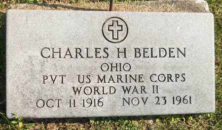 BELDEN, CHARLES H. - Trumbull County, Ohio | CHARLES H. BELDEN - Ohio Gravestone Photos