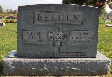 BELDEN, ETHEL E. - Trumbull County, Ohio | ETHEL E. BELDEN - Ohio Gravestone Photos