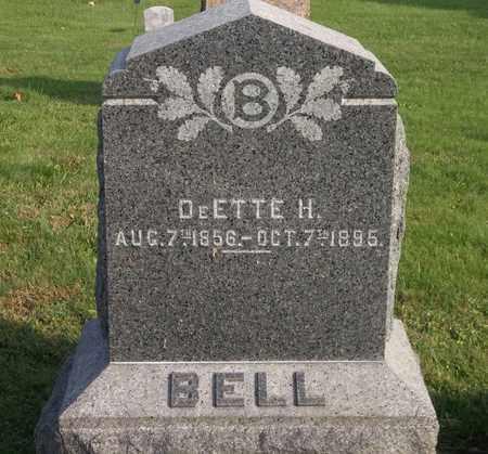 BELL, DEETTE H. - Trumbull County, Ohio | DEETTE H. BELL - Ohio Gravestone Photos